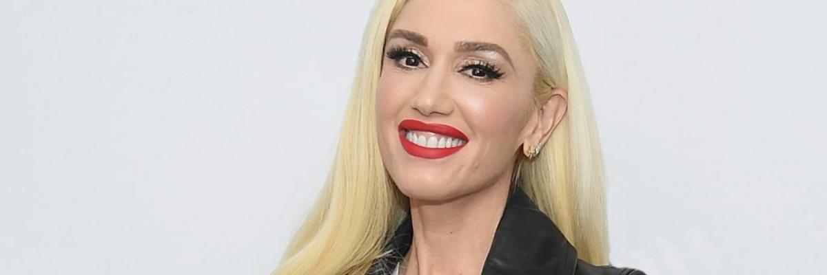 Usmívající se Gwen Stefani